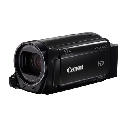 Canon VIXIA HF R72 Full HD 1080p Camcorder with Focus Camera Deluxe SLR Soft Case & 16GB Accessory Bundle