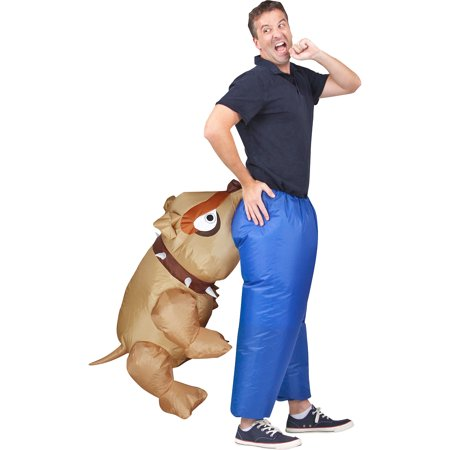 Costumes For Men (Inflatable Dog Bite Halloween Costume for Men, Standard, with)
