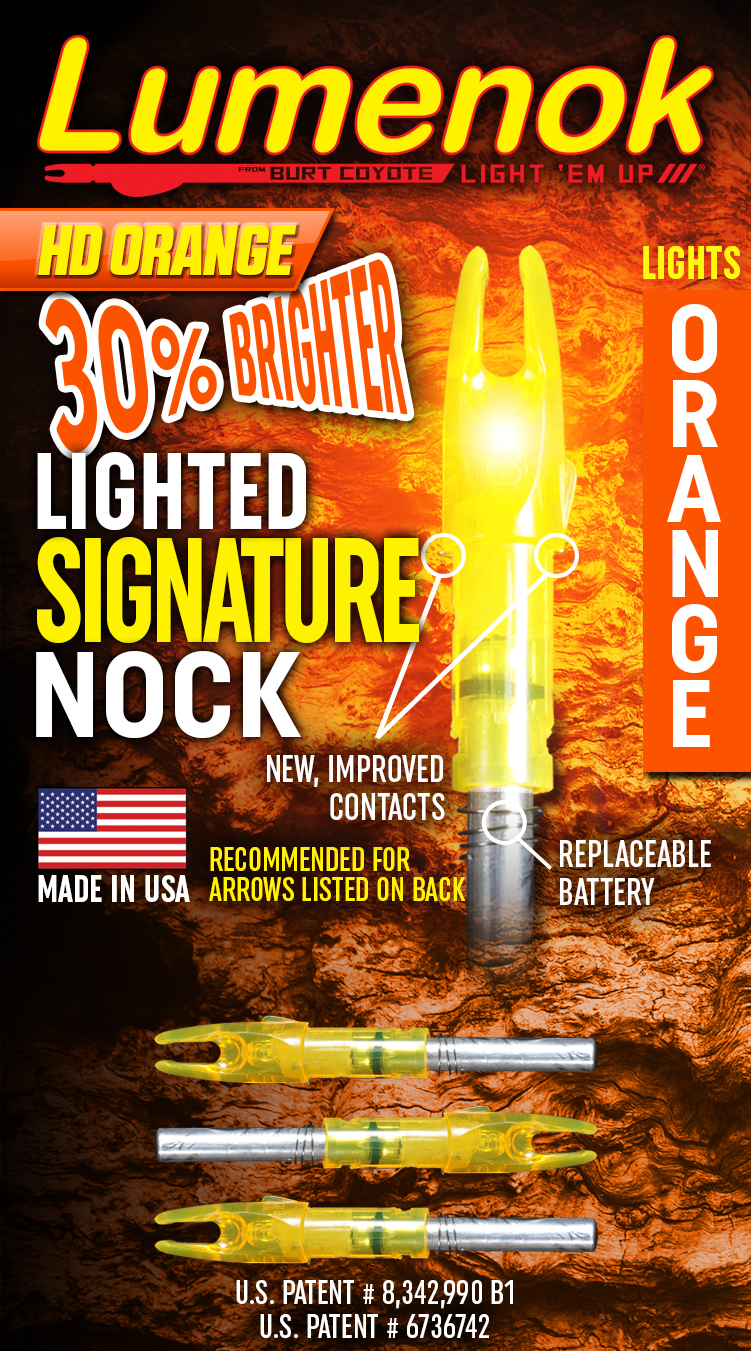 Signature Lumenok Lighted Arrow Nock, 3-Pack