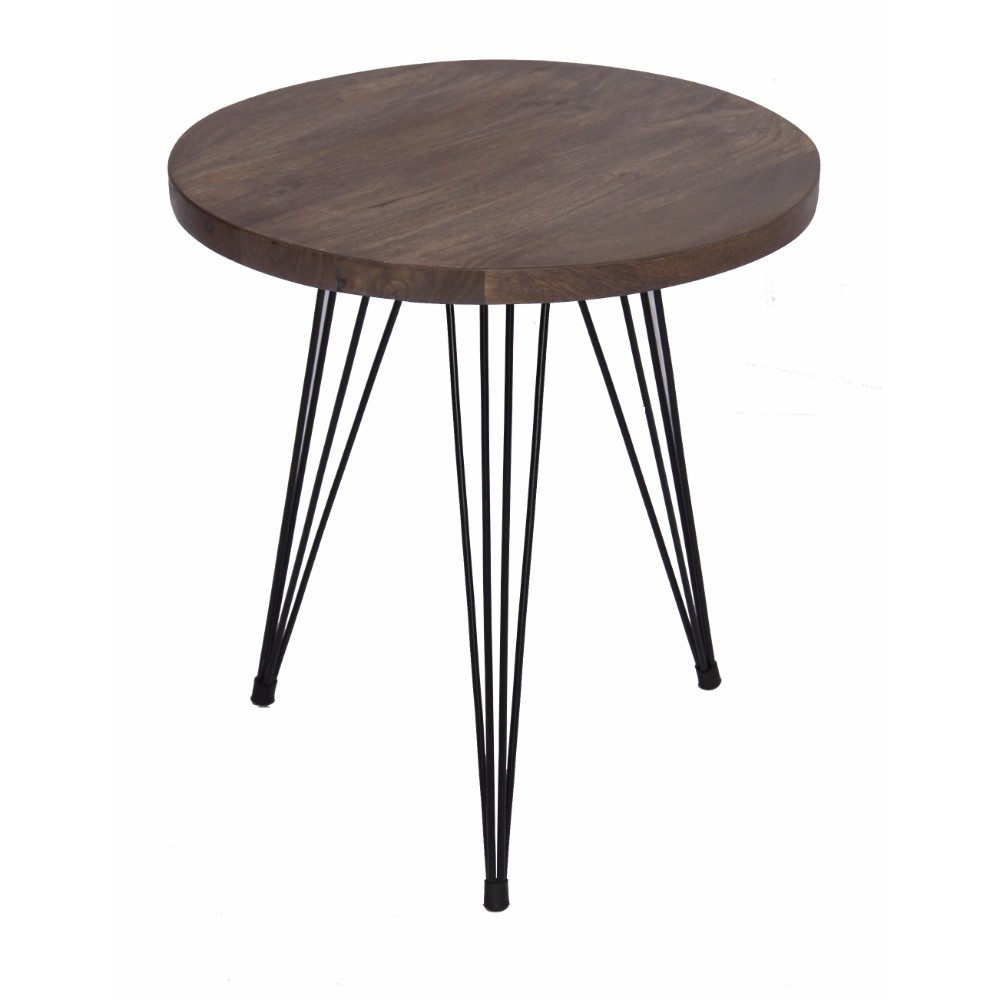 Functional End Table Wire Style Iron Legs At The Bottom   Walmart.com