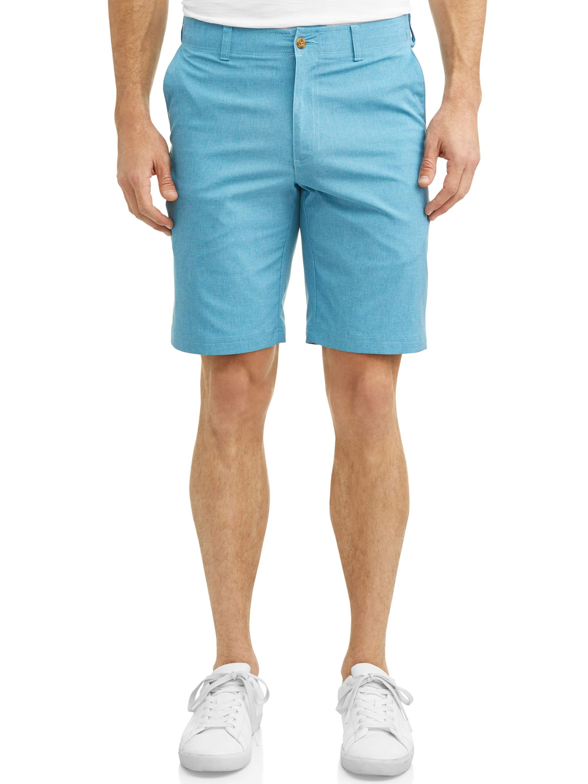 Big Men's Performance Heather Active Flex Waistband 4-Way Stretch Golf Short