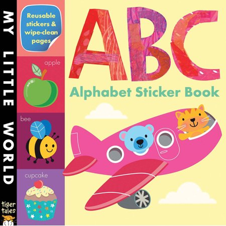 ABC Alphabet Sticker Book -