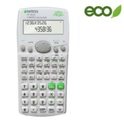 Teledex DS-736 283 Function 2 Line Scientific Calculator with Fraction and Equation