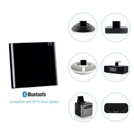 Bluetooth A2DP Music Receiver Audio Adapter for iPod iPhone 30 Pin Dock