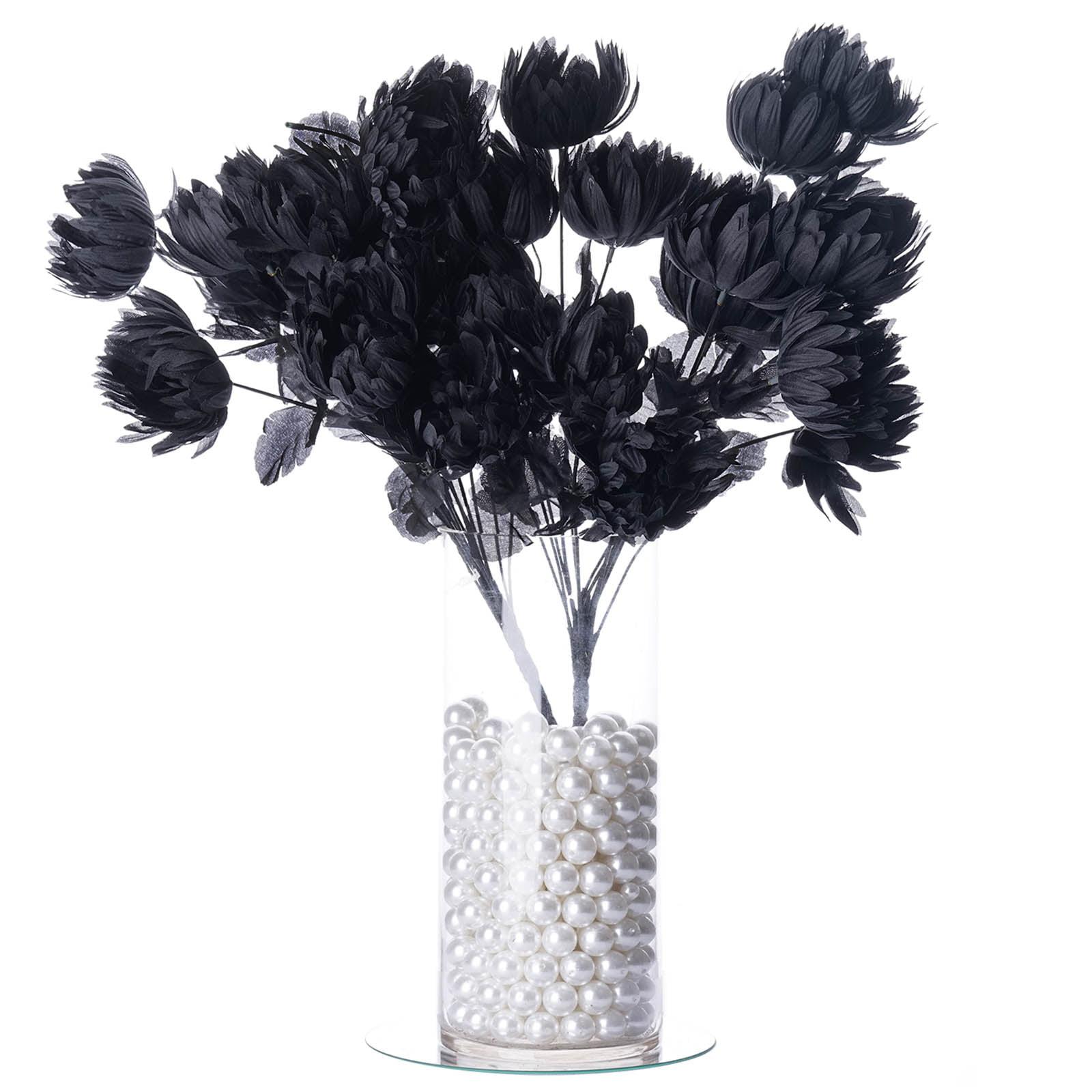 Balsacircle 56 Chrysanthemum Mums Silk Flowers For Wedding Party