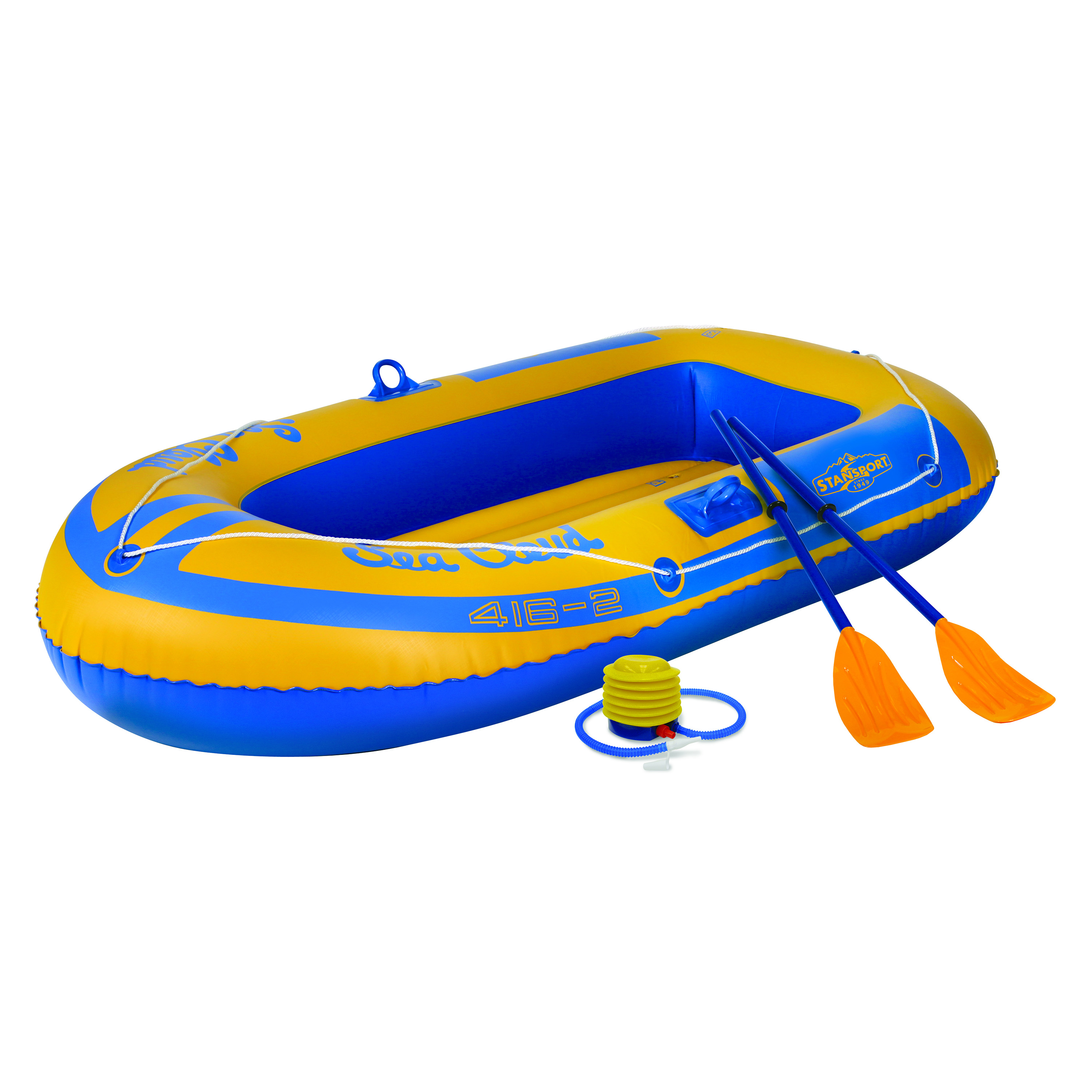 Stansport 2-Person Inflatable Boat - Kit