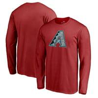 Arizona Diamondbacks Fanatics Branded Static Logo Long Sleeve T-Shirt - Red