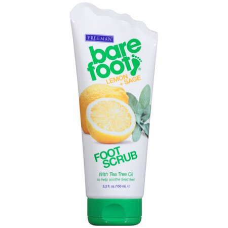 Lemon & Sage Exfoliating Foot Scrub