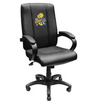 Golden State Warriors NBA Office Chair 1000 with 2018 Champions Logo Panel
