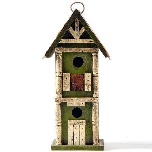 Glitzhome Freestanding Birdhouse