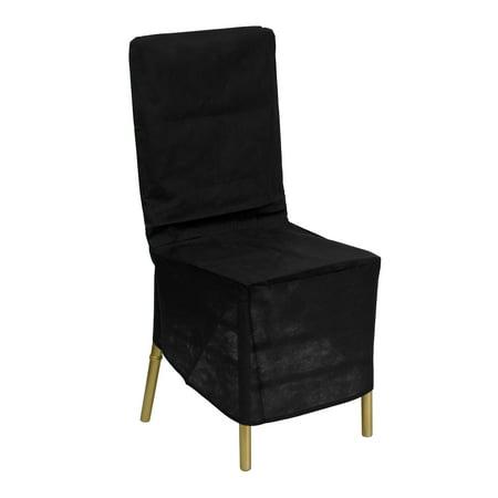 Flash Furniture Black Fabric Chiavari Chair Storage Cover ()