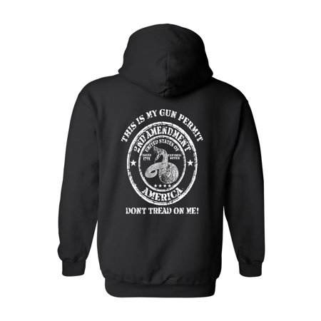 Second Layer Thermal Pullover (Unisex Pullover Hoodie Don't Tread On Me 2nd)
