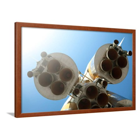 Rocket Engines Framed Print Wall Art By Kuzma