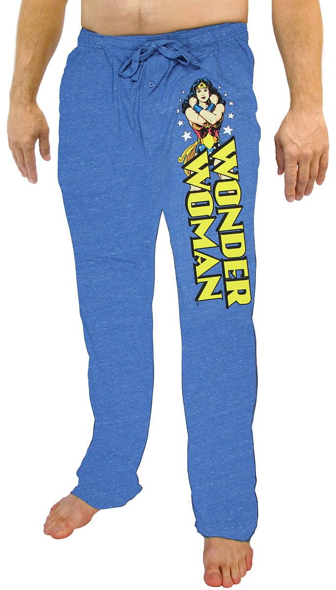 NEW LICENSED ~DC COMICS~ WONDER WOMAN MOVIE LOUNGE PANTS JOGGERS FOR JUNIORS