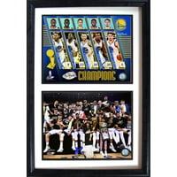 12x18 Double Frame - 2017 NBA Champion Golden St. Warriors