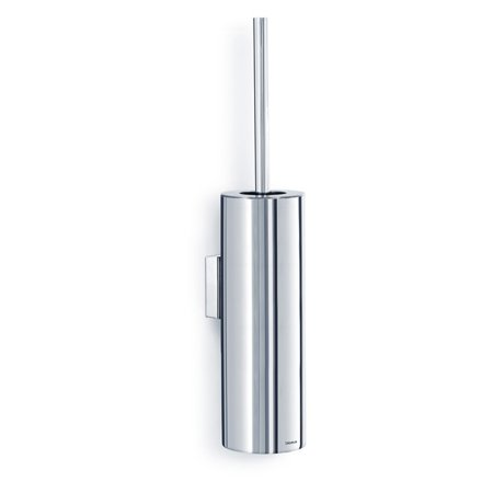 Blomus Nexio Polished Wall Mounted Toilet Brush with Holder