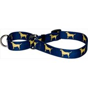 Yellow Dog Design M-YLL101S Yellow Lab Martingale Collar - Small