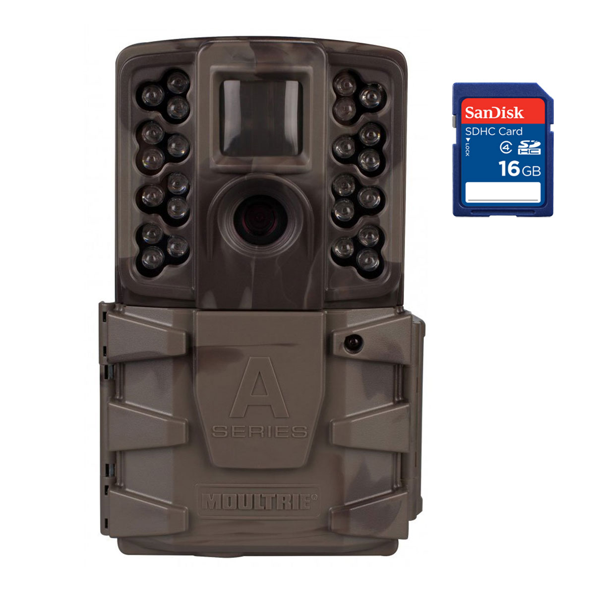 Moultrie A-40 Pro 14MP Low Glow Infrared Game Trail Camera with SD Memory Card