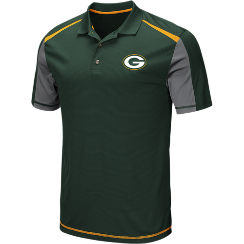 Green Bay Packers Majestic Draft Prize Polo - Green