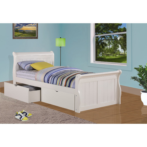 Donco Kids Sleigh Bed with Storage
