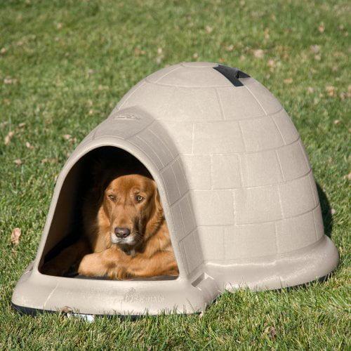 Petmate Indigo Dog House - Tan
