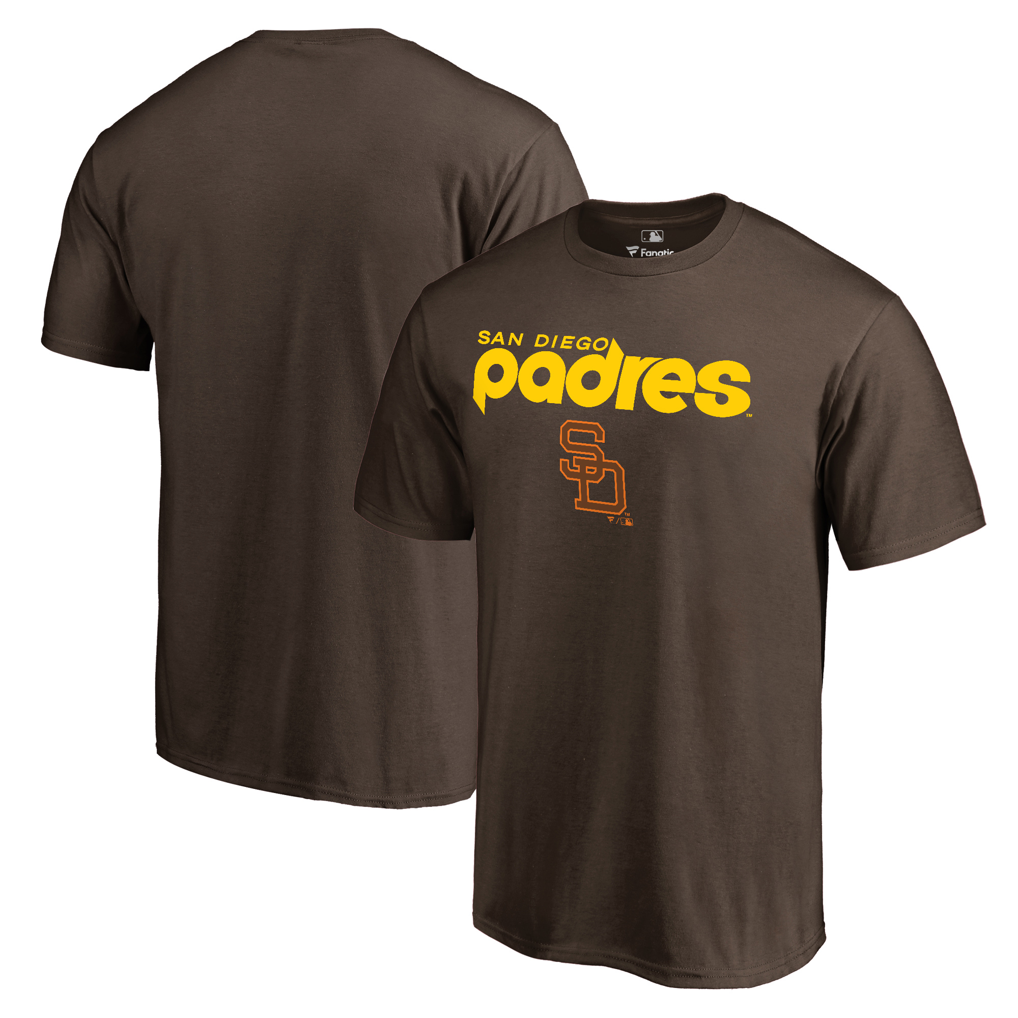 San Diego Padres Fanatics Branded Cooperstown Collection Wahconah T-Shirt - Brown