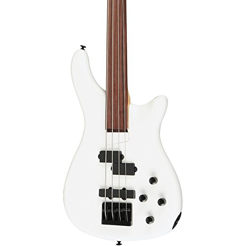 Rogue LX200BF Fretless Series III Electric Bass Guitar Pearl White by