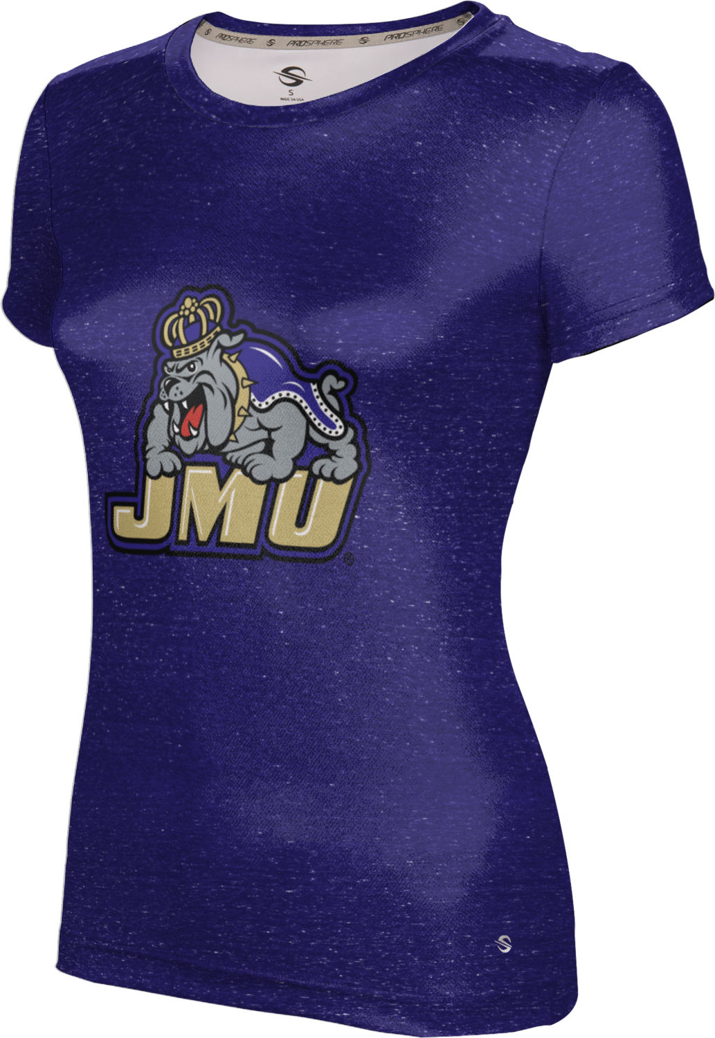 ProSphere Girls' James Madison University Foundation Heather Tech Tee