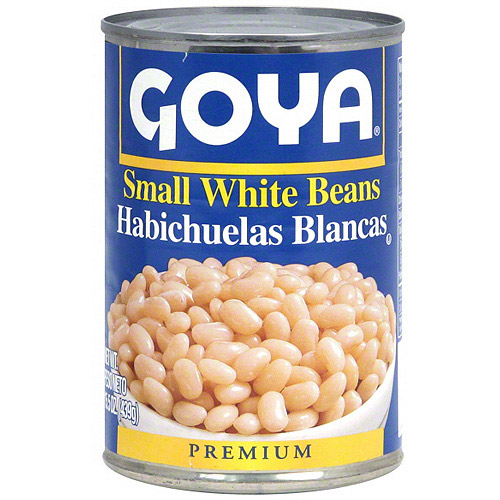 Goya Small White Beans, 15.5 oz (Pack of 24)