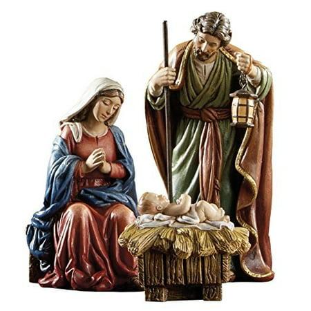 Avalon Gallery Nativity Figurine Set by Michael Adams, 3 Piece