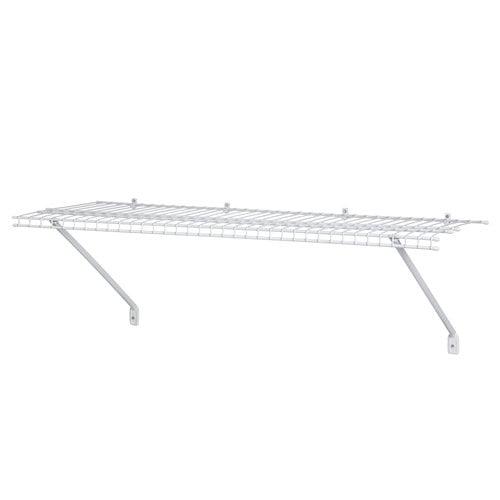 Closetmaid 4 Ventilated Wire Shelf White 1041100