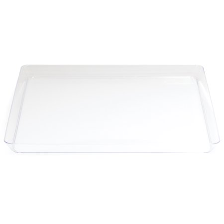Creative Converting Clear Tray, Each (Clear Serving Tray)