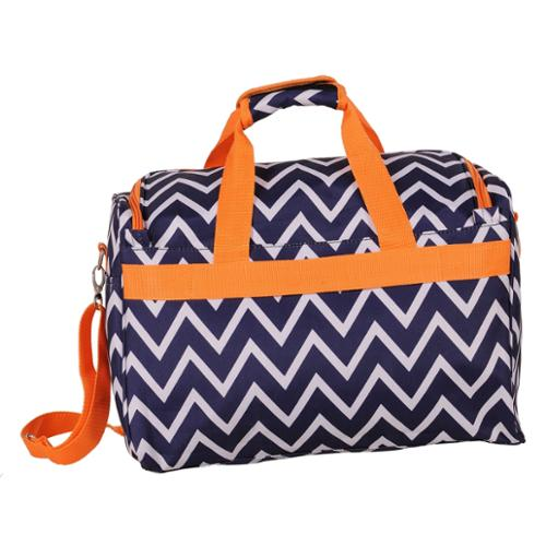 Jenni Chan Aria Madison 18-inch Carry On City Duffel Bag Blue