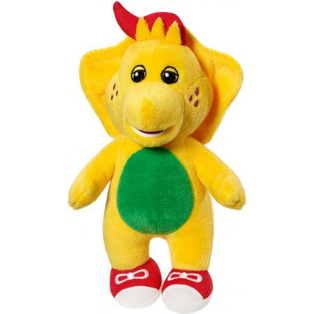 Barney Buddies BJ Yellow & Green Plush Dinosaur (Barney Plush Toy)
