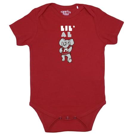 Alabama Crimson Tide Infant Lil Mascot Bodysuit - Crimson ()