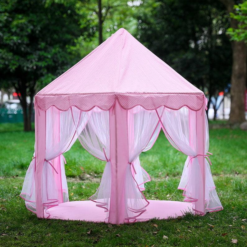 Hot Sale Children Kids Indoor Play Tent Folding Toy Tent Pop Up Girl Princess Castle
