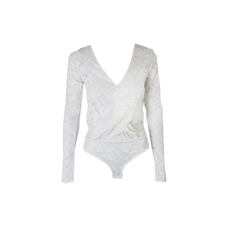 Ivory Lace Long Sleeve (free people ivory lace long sleeves bodysuit xs )