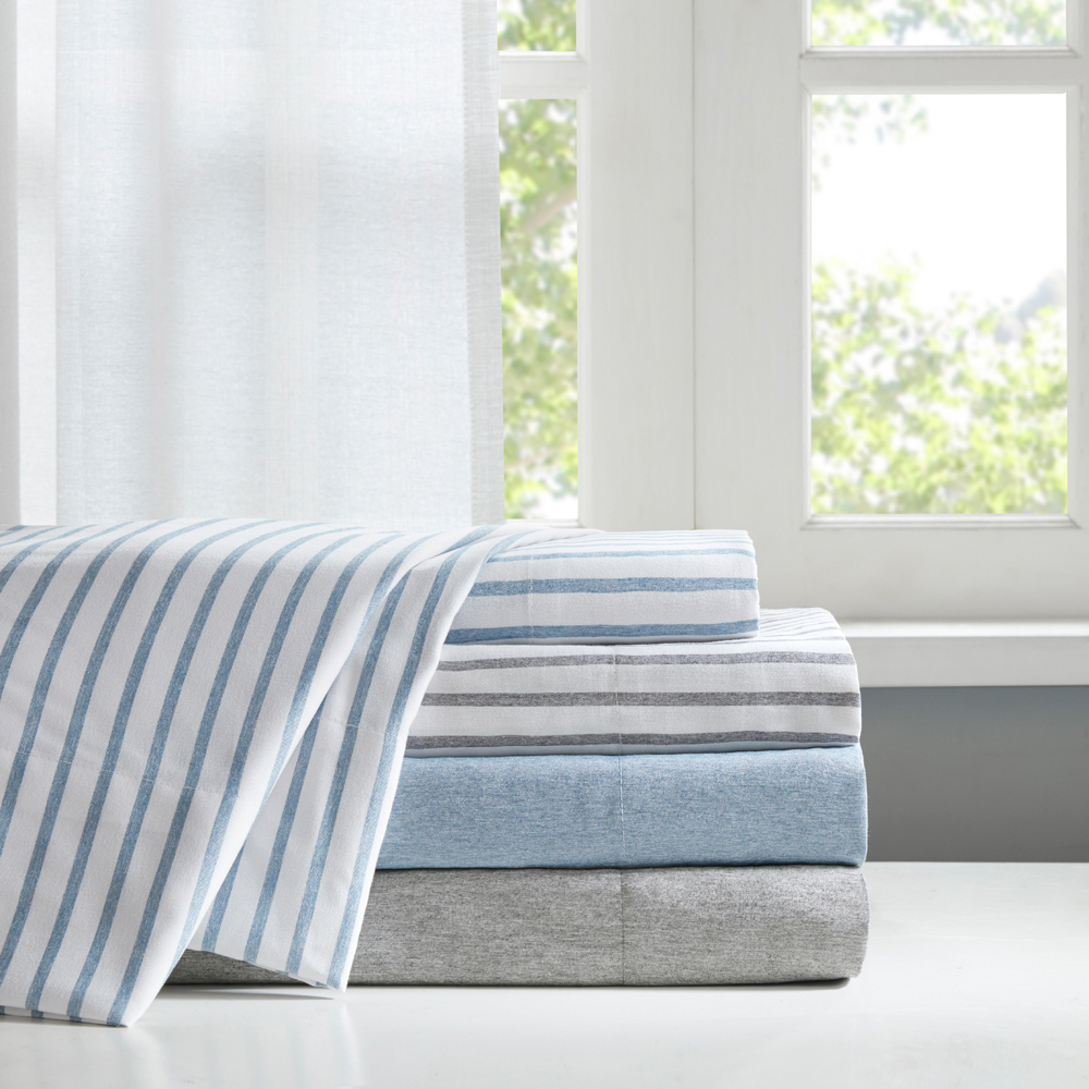 Comfort Classics Chambray Ultra Soft Microfiber Sheet Set