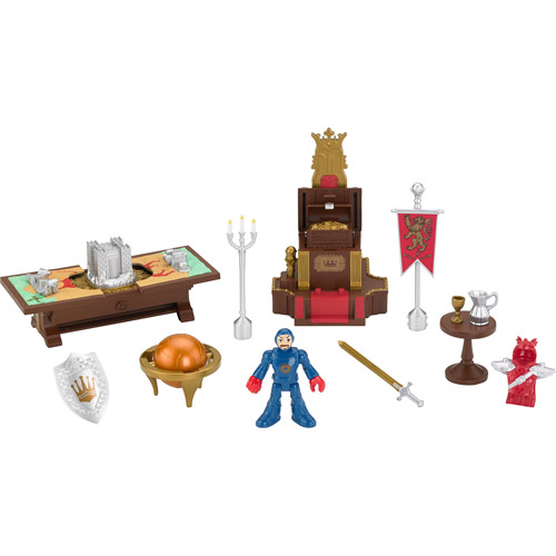 Fisher Price Imaginext castle battle plan playset