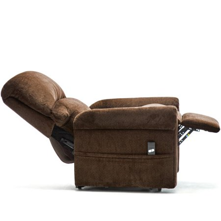 CLEARANCE! Recliner Chair for Lounge, Single Recliner Chair, Ergonomic Power Lift Recliner Chair w/Padded Seat Backrest, Velvet lazy boy Chaise for Home, Living Room, Lounge, Green, S11593