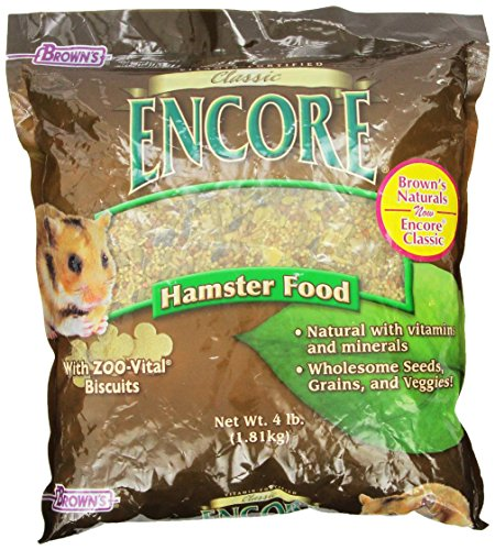 F.M.BROWNS Encore Classic Natural Hamster Food Multi-Colored