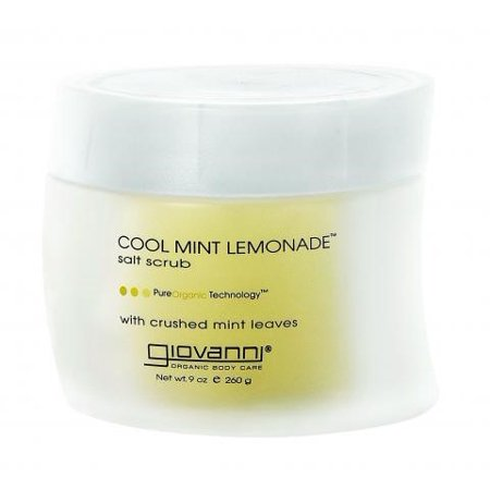 Mint Salt Scrub - Giovanni Salt Scrub Cool Mint Lemonade - 9 Ounce