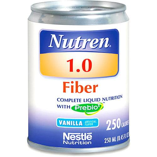 Nestle Nutren 1.0 Fiber Complete Liquid Nutrition with Prebio1