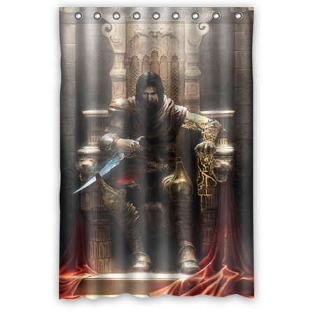 Ganma Prince of Persia the Two Thrones Shower Curtain Polyester Fabric Bathroom Shower Curtain 48x72