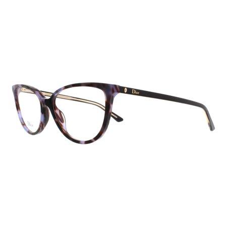 DIOR Eyeglasses MONTAIGNE 33 0TG7 Mauve Havana Black 52MM