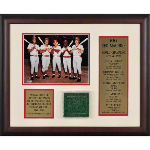 MLB - Cincinnati Reds Cinergy Field Turf Photograph Collage