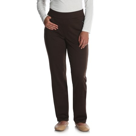 Women's Ponte Knit Pull On Pant ()