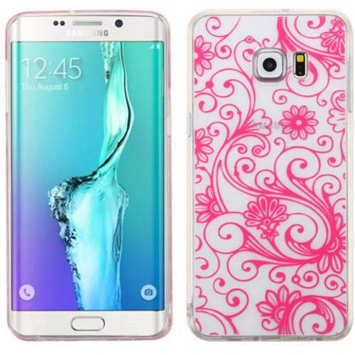 Samsung Galaxy S6 Edge Plus MyBat Candy Skin Cover Four Leaf Clover