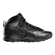 "Air Jordan X 10 Retro (GS) ""NYC City Pack"" Black - Dark Grey - Gold"