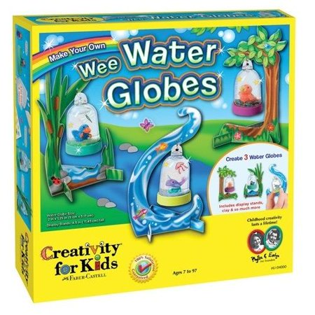 Make Your Own Wee Water Globes - Craft Kit by Creativity For Kids (6104)
